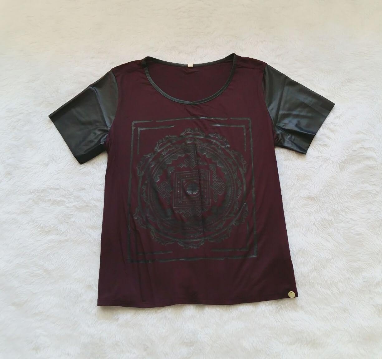 t-shirt-bordo-preto-m-0