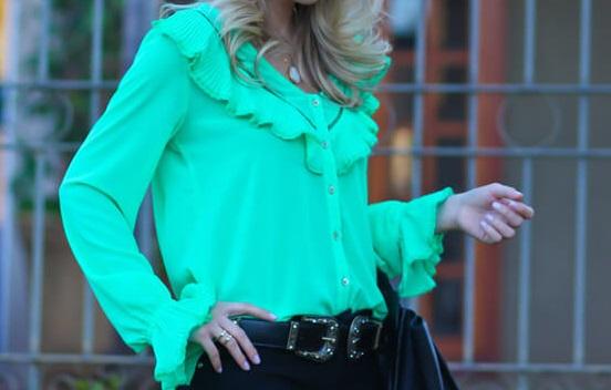 camisa-verde-babados
