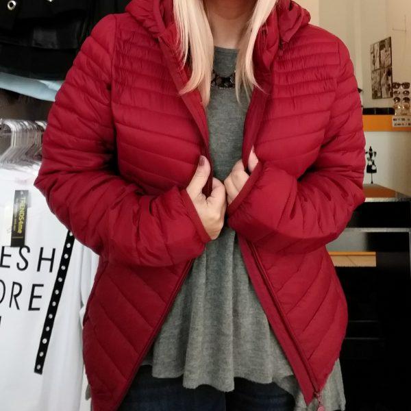 casaco vermelho g