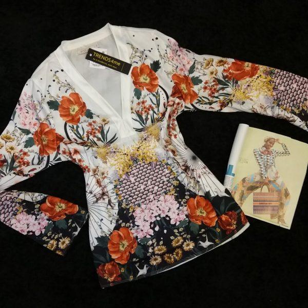blusa floral endless g-0